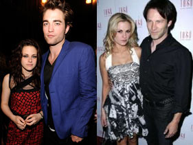 'True Blood' Stars and 'Twilight' Stars Photo Courtesy of MTV.com